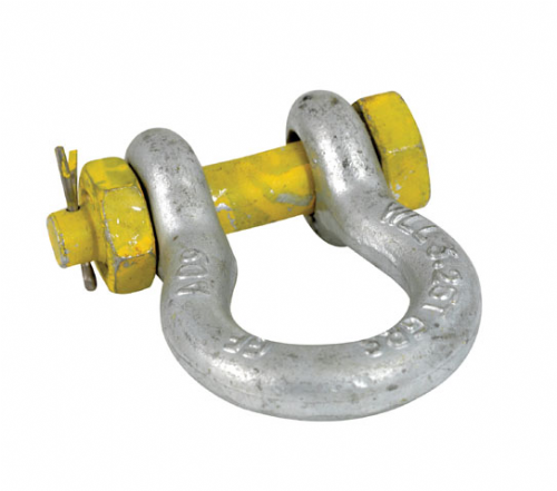Yellow Pin Tested Safety Bow Shackle
